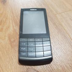 Nokia X3-02 Touch and Type - 169 lei - Telefon Nokia, Gri, Nu se aplica, Neblocat, Fara procesor