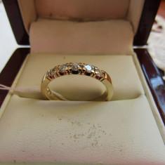 LICHIDEZ COLECTIE- INEL CU BRILIANTE - Inel diamant, Carataj aur: 14k, Culoare: Galben
