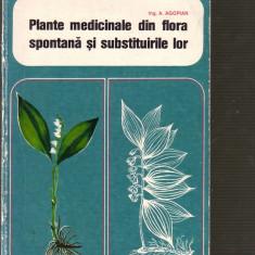 A.Agopian - Plante medicinale din flora spontana si substituirile lor