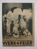 Revista germana din anul 1935 Werk + Feier (1)