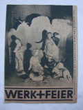 Revista germana din anul 1935 Werk + Feier (2)