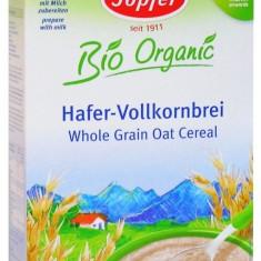 Topfer cereale bio ovaz integral fara lapte de la 6 luni - Cereale copii