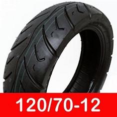 Cauciuc Anvelopa Moto Scuter Tubeless 120x70-12 120x70x12 120 70 12 NOU