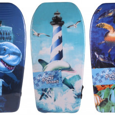 Bodyboard Print 2016 Placa surf copii, 93 cm albastru