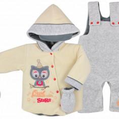Compleu pentru bebelusi-Koala Sowa 04-575C, Crem