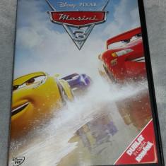 Disney Masini 3 - Cars 3 dublat in limba romana - Film animatie disney pictures, DVD