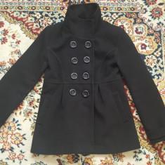 Paltoane - Palton dama, Marime: S, Culoare: Negru