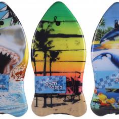 Bodyboard Ergo 2016 Placa surf copii, 93 cm negru