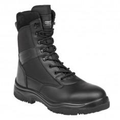 Bocanci militari armata jandarmi politie pompieri paza - Bocanci barbati, Marime: 41, 42, 43, 45, Culoare: Negru