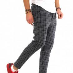 Pantaloni barbati de trening gri - COLECTIE NOUA - 9510, Marime: S, M, L, XL, Culoare: Din imagine