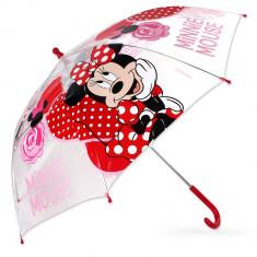 Umbrela pentru fetite Minnie Mouse-Setino MIN-A-UMB-05RO, Rosu