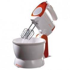 Mixer Ariete Mixy Professional 1565/1 300 W Capacitate 2.4 L 5 Viteze + Turbo Portocaliu/Alb - Mixer Bucatarie, Cu bol, Numar viteze: 5