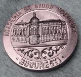 Medalie A.S.E. - Facultatea de finante si credit - 1982- promotia 1957