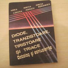 DIODE ,TRANZISTOARE,TRISTOARE SI TRIACE HORIA CARSTEA