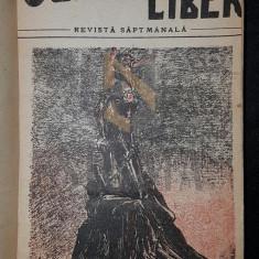 CUVANTUL LIBER, REVISTA SAPTAMANALA, ANUL I, 1919 (COLEGAT, 19 NUMERE) - GRAUR CONSTANTIN (desene Tonitza)