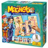 Joc magnetic papusa dupa meserii D-toys, D-Toys
