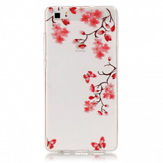 Husa silicon TPU Huawei P8lite Maple - Husa Telefon