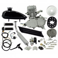 Kit Complet Motor Bicicleta 80cc NOU