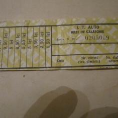 Bilet ita comunist rar - Bilet Loterie Numismatica, An: 1976