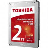 Hard disk intern Toshiba P300, 2 TB, SATA 3, Buffer 64 MB, 3.5 Inch
