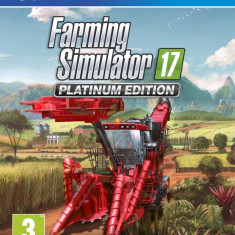 Joc consola Focus Home Interactive FARMING SIMULATOR 17 PLATINUM EDITION PS4 - Jocuri PS4