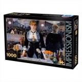 Puzzle 1000 piese Impresionismul D-toys