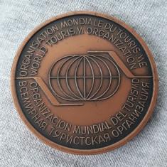 Medalie - Romania - turism - Organizatia mondiala de turism - 1982 - Medalii Romania