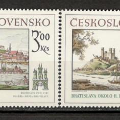 Cehoslovacia.1979 Motive istorice din Bratislava KC.104 - Timbre straine, Nestampilat
