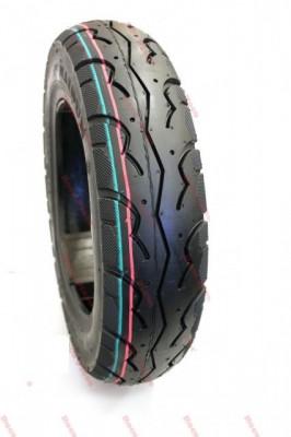 Cauciuc Anvelopa Moto Scuter Tubeless 100x90-10 100x90x10 100 90 10 NOU foto