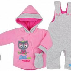 Compleu pentru bebelusi-Koala Sowa 04-575R, Roz