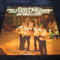 The Clancy Brothers & Tommy Makem - Recorded Live In Ireland _ vinyl,LP_Columbia, VINIL, Columbia