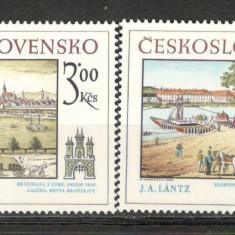 Cehoslovacia.1980 Motive istorice din Bratislava KC.111 - Timbre straine, Nestampilat