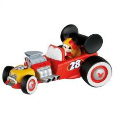 Figurina Mickey cu Masina - Mickey si Pilotii de Curse - Figurina Povesti Bullyland