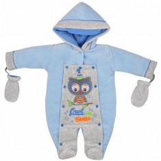 Salopeta de iarna pentru bebelusi-KOALA Sowa 04-581AL