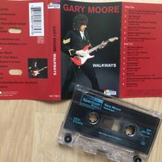 Gary moore walkways caseta audio muzica rock blues Spectrum music germany 1994 - Muzica Blues, Casete audio