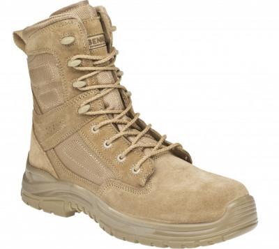 Bocanci militari culoare nisip foto
