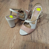 Sandale dama noi piele integral superbe foarte comode 37 !