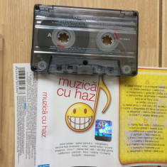 Muzica cu haz caseta audio compilatie various muzica pop rock cat music 2005, Casete audio