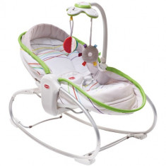 Sezlong 3 in 1 Rocker Napper Verde - Balansoar interior Tiny Love