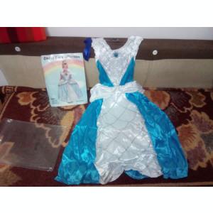 Costum Elsa&Cenusareasa  7-10 ani