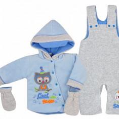 Compleu pentru bebelusi-Koala Sowa 04-575AL, Albastru