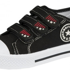 Incaltaminte sport pentru copii American Club 481/15, Negru - Pantofi copii