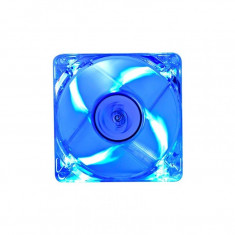 Ventilator DeepCool Xfan 80L, 80 mm, pana la 1800 RPM, LED Albastru - Cooler PC