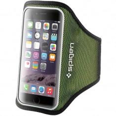 Husa Flip Cover Spigen Sports Armband Green pentru iPhone 6/6S - Husa Telefon