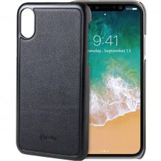Husa Protectie Spate Celly GHOSTCOVER900BK Ghost Cu Magnet Negru pentru APPLE iPhone X - Husa Telefon