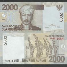INDONEZIA INDONESIA 2000 2.000  RUPII RUPIAH 2009 , UNC [1] P-143e , necirculata