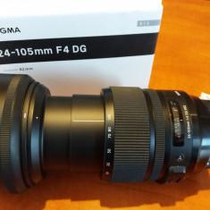 Sigma Art 24-105 f4 DG OS HSM montura Canon. Nou cu factura si garantie 2 ani - Obiectiv DSLR