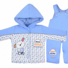 Compleu pentru bebelusi-Koala Ciapek 2574-AL1, Albastru