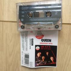 Queen greatest hits compilatie caseta audio Muzica Pop emi records rock made in uk emi 1981, Casete audio