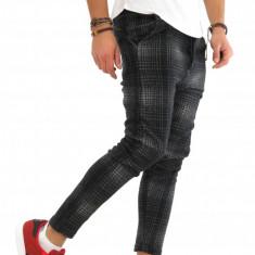 Pantaloni barbati de trening gri - COLECTIE NOUA - 9512, Marime: S, M, L, XL, Culoare: Din imagine